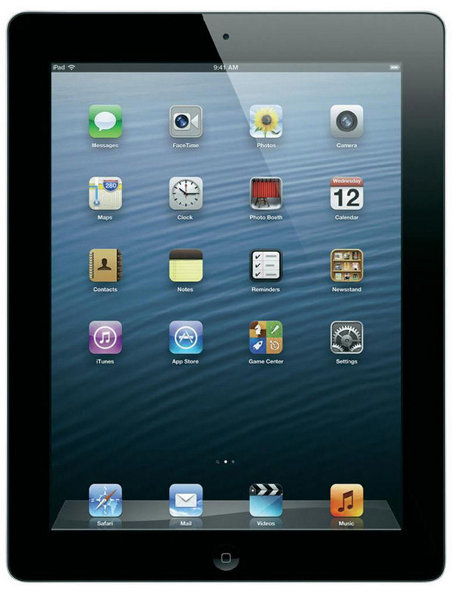 Apple iPad 4 64GB WiFi + Cellular Schwarz