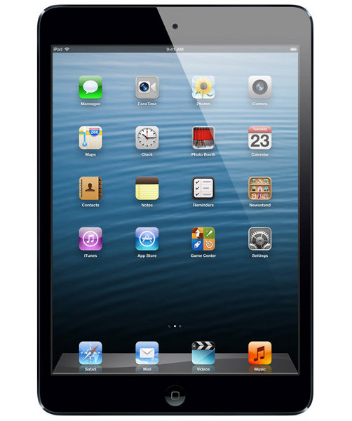 Apple iPad mini 64GB WiFi + Cellular Schwarz