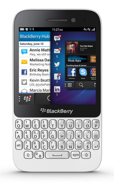 Blackberry Q5 8GB Weiß